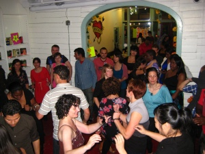 A wonderful turnout for Saturday Nite Salsa @ Rocket-Fundraiser for CBCF 2012