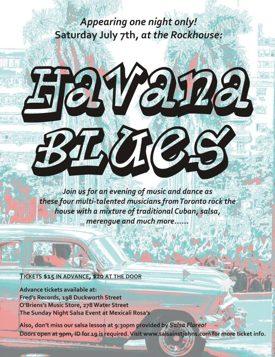 Havana Blues concert was a success! Can't wait for another one :)