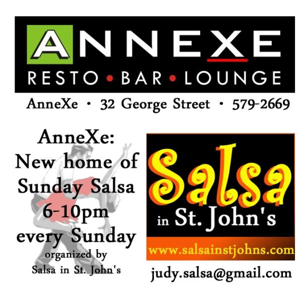 sunday salsa annexe square ad copy