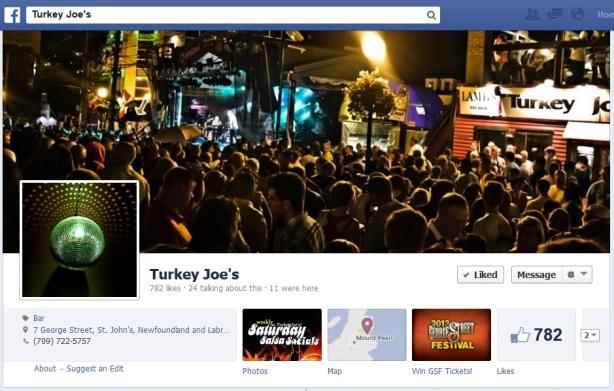 turkey joes fb page