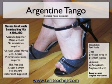 teris tango classes may 2013
