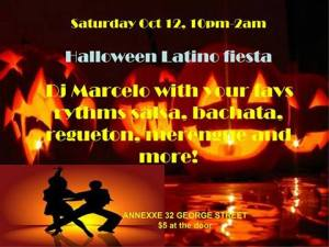 annexe halloween salsa with dj marcelo oct 12 2013