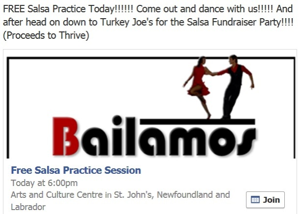 bailamos free salsa practice oct 5th
