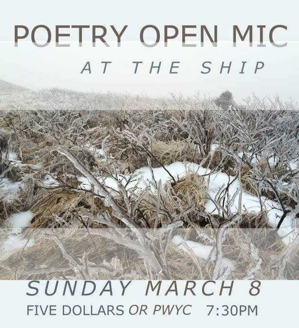 spoken word March 8 2015