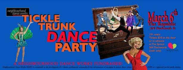 Tickle Trunk Dance Party banner
