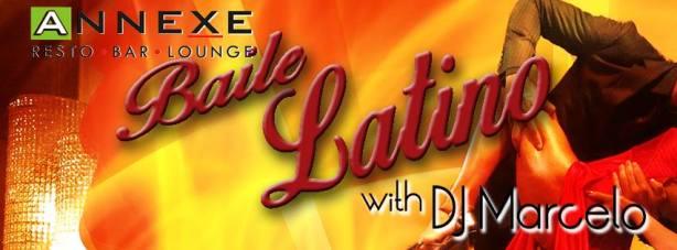 Baile Latino Annexe Latin Dance flyer