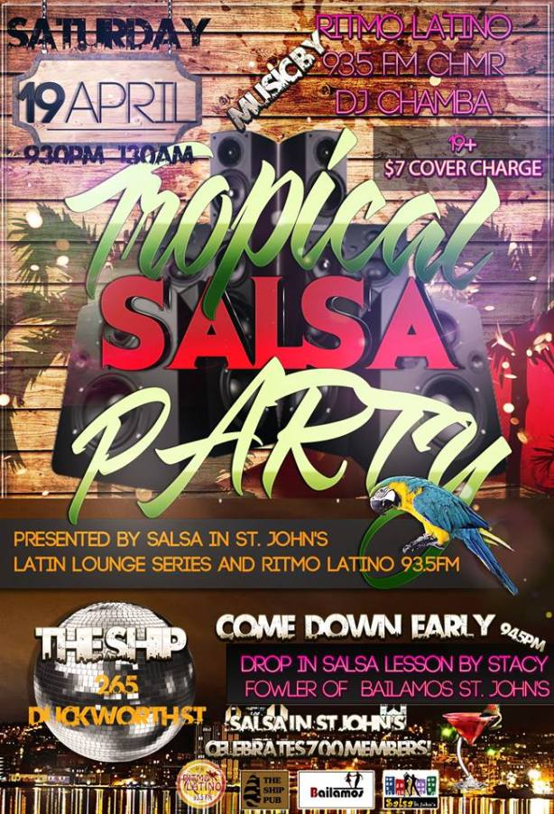 salsa at the ship poster april 19 2014