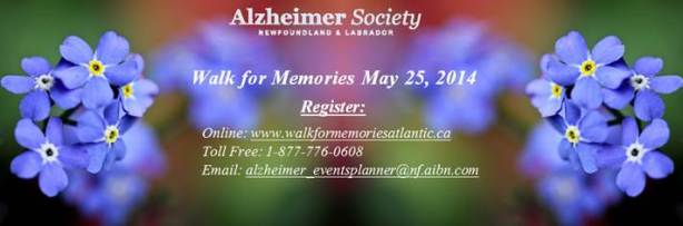 walk for memories banner ad May 25 2014