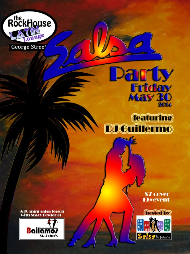 Salsa party May 30 2014