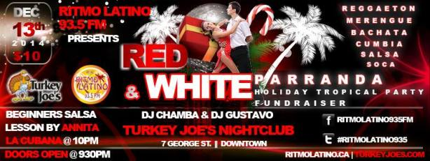 Red and White Parranda | Holiday Tropical Party (12/13/14)
