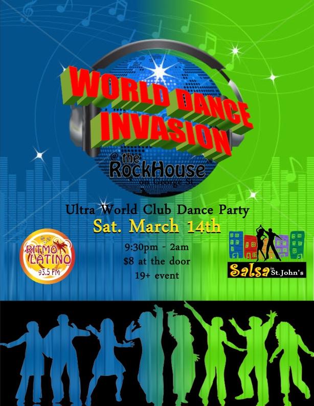 dance invasion flyer
