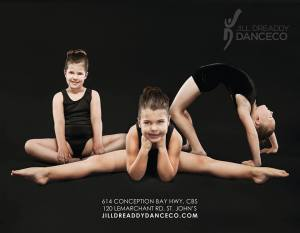 jill dreaddy dance co poster