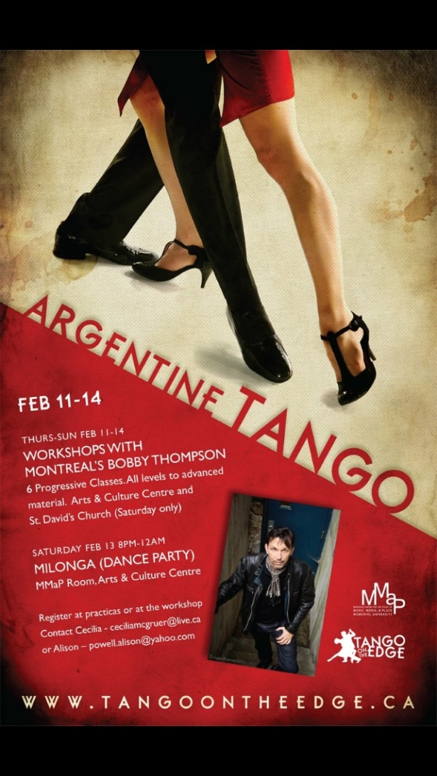 Argentine Tango Valentine's weekend 2016