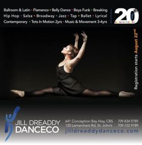 jill dreaddy dance flyer